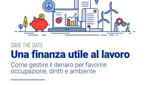 Save the date Convegno Finanza e Lavoro