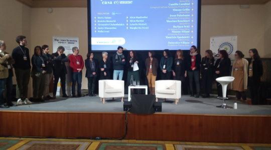 Team facilitatori Laudato si' e finanza etica