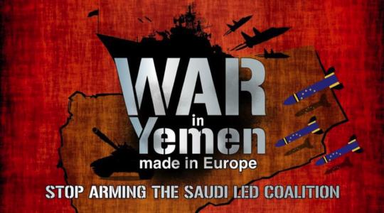 Guerra in Yemen, made in Europe